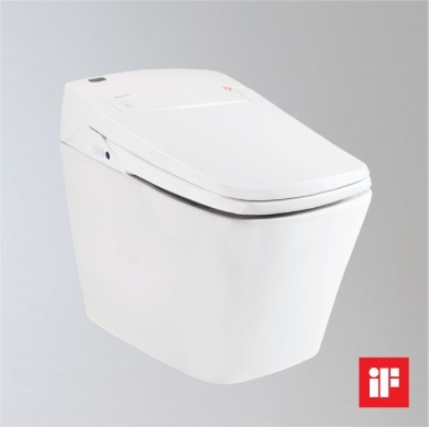 Integrated Toilet Tankless Electronic Bidet (TCB 080S)