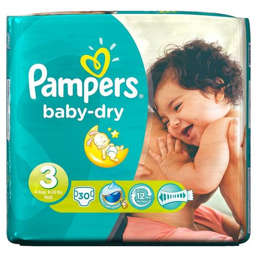 Pampers Baby Diapers With Original Packing
