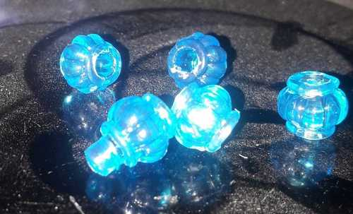 Plastic And Crystal Beads