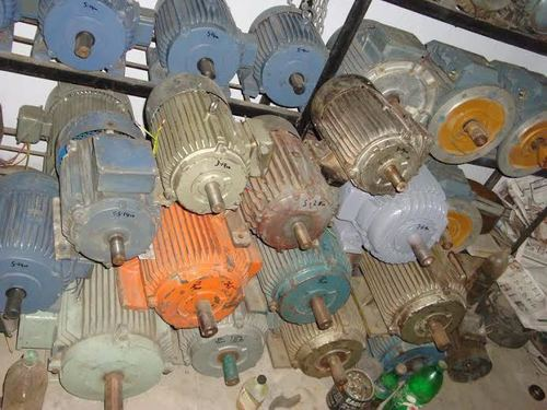Used Copper Winding Electric Motor