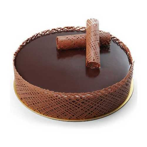 Dark Brown Chocolate Cake
