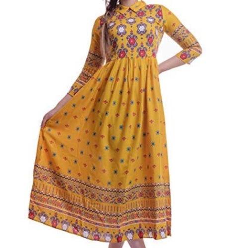 Ladies Designer Stitched Kurti