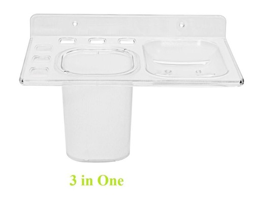3 in 1 Acrylic Unbreakable Bathroom Fittings