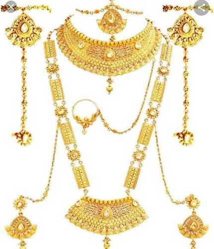 Artificial Gold Necklace Set