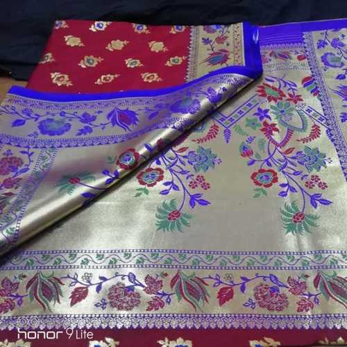 Banarasi Paithini Anchal Border Saree