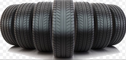 Black Rubber Cars Tyres