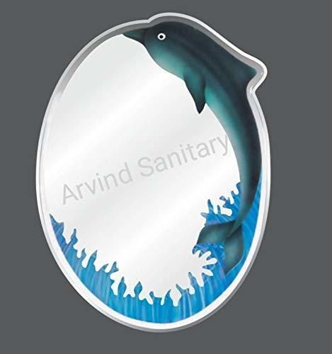 Designer Dolphin Mirror 18 X 24 Inches