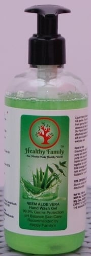 Healthy Family - Hand Wash (Neem Aloe Vera)