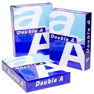Highest Grade Super White Double A A4 Copy Paper 70, 75, 80 GSM