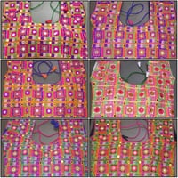 Ladies Embroidered Kutch Work Blouse