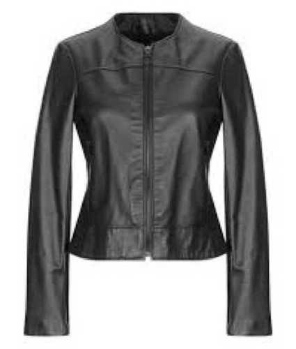 Leather And Faux Jacket
