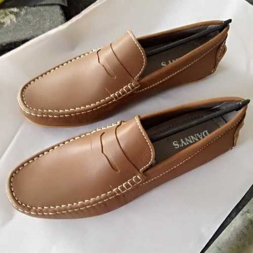 Leather Driving Loafer Shoes