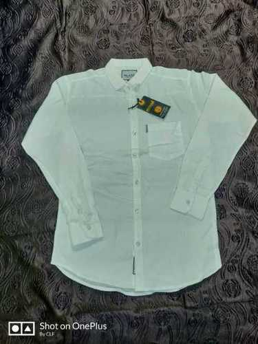 Plain Cotton Shirt For Men