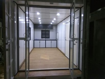 As Per The Client Need Portable Housing
