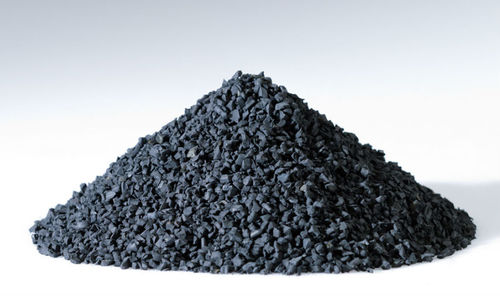 Recycled Black Rubber Granules
