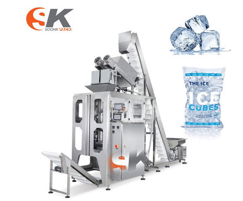 Soonk Frozen Food Ice Cubes Packing Machine