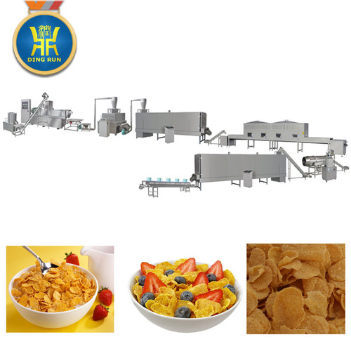 Stainless Steel Breakfast Cereal Machine
