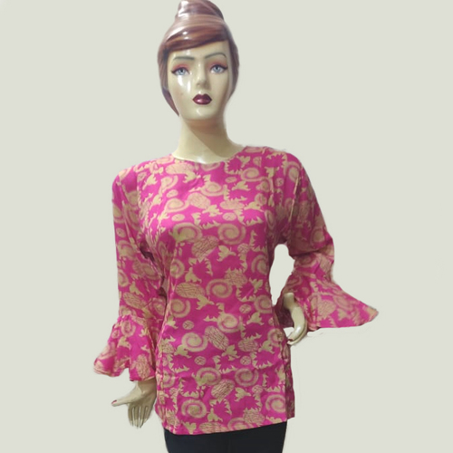 Stylish Ladies Top With Flair Hand