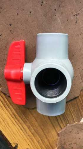 Three Way Plastic Valve