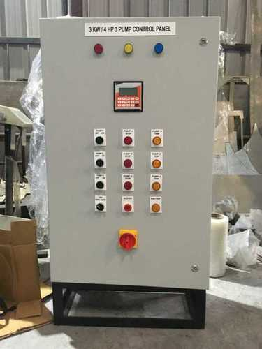 Water Booster Control Panel