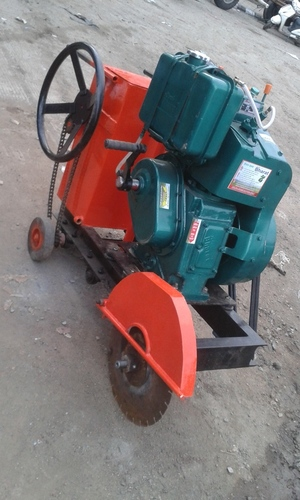 Automatic Diesel Motor Road Cutter Machine