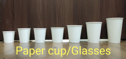 Disposable Paper Cups And Glasses