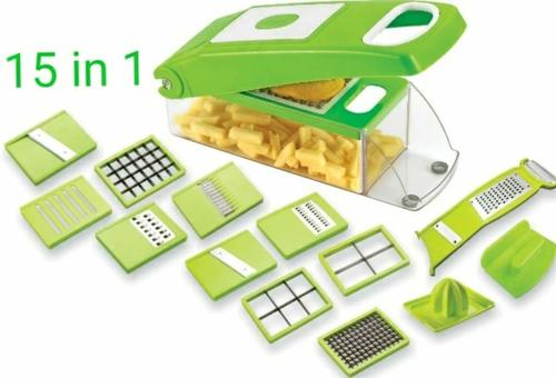 Green Color 15 In 1 Dicer