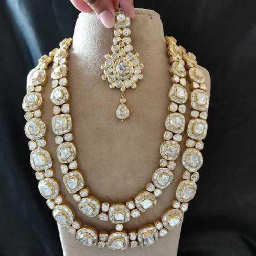 Kundan Silver Necklace Set