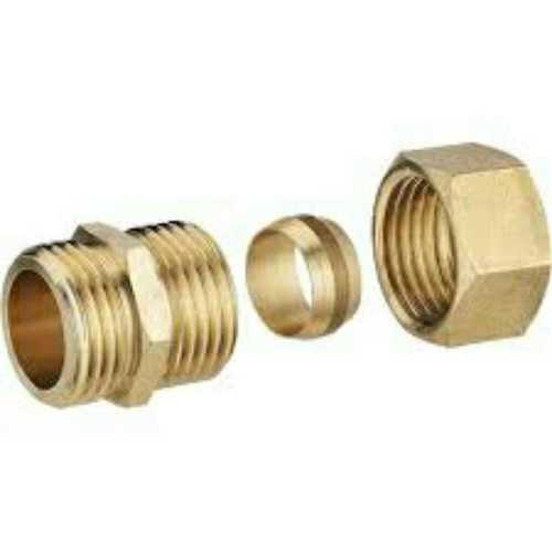 Metal Body Lubricating Fitting Nut