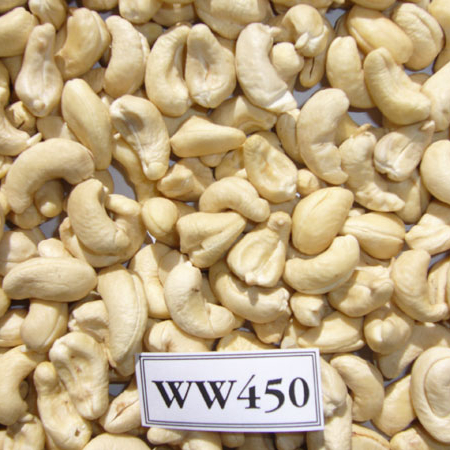 Roasted And Unsalted Cashew Nuts