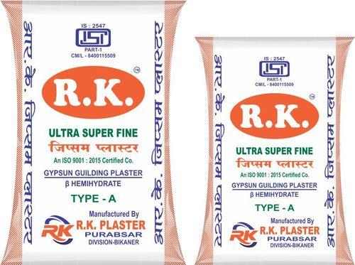 Ultra Super Fine Gypsum Plaster