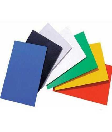 Pvc Laminated Plain Sheets  Size: Custom