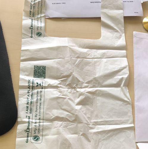 Bio Degradable Bag For Packaging