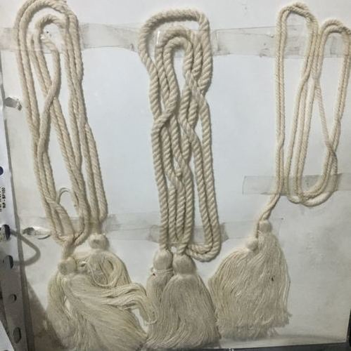 White Cotton Dori Tasal