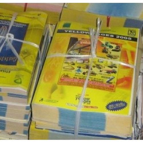 Yellow Pages Paper Scrap
