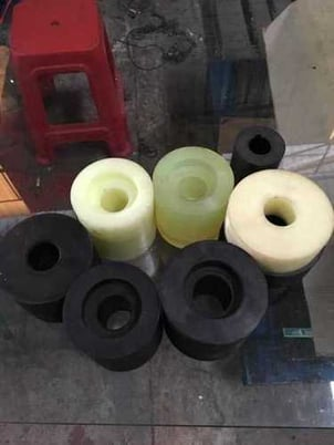 Rubber Roll Used In Stainless Steel Polishing Machine