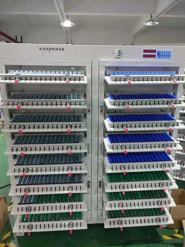 512 Channels Battery Testing System Tray In Tray Out