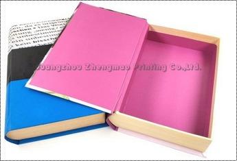 Custom Magnetic Paper Hollow Fake Book Box