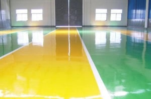 Self Leveling Seamless Epoxy Flooring For Interior Residential Home