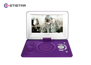 """9'' TFT LED Portable DVD Player (10""""casing)"""