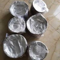 Silver Coated Disposable Paper Bowls