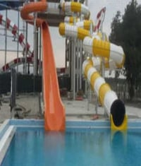 Water Amusement Park Slide