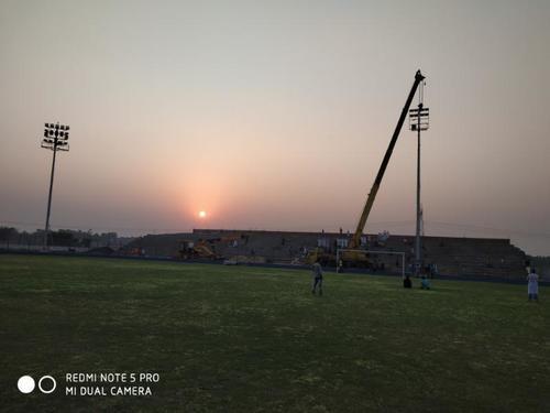 High Mast Pole For Stadium Lighting