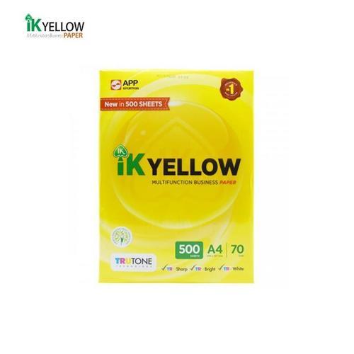 IK Yellow A4 Copy Paper 70GSM