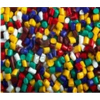 Multi Color Plastic Granules