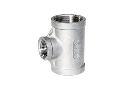 Stainless Steel Tee factory Threaded Fittings