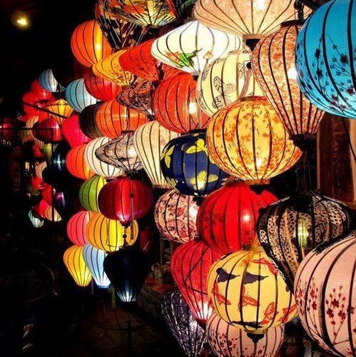 Beautiful Bamboo Silk Lantern