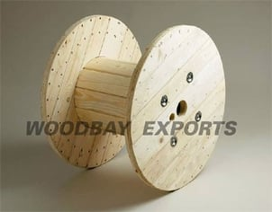 Nailed Wooden Cable Drum, Reel