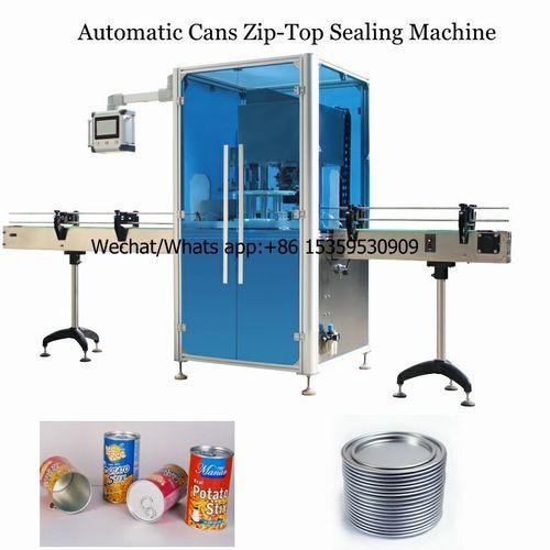 Automatic Cans Seamer Sealing Machine