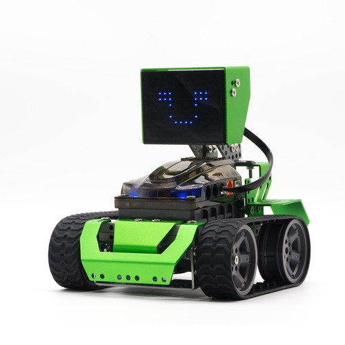 DIY Smart RC Robot Car Kit Programmable Tracking APP Control Educational DIY Robot Car Toy for Children Gift